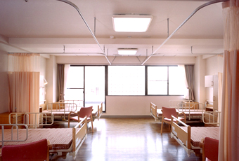 みどりの館施設紹介写真 療養室