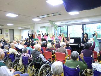 介護老人保健施設 草加市「みどりの館」のショートステイ(短期入所療養介護)の様子